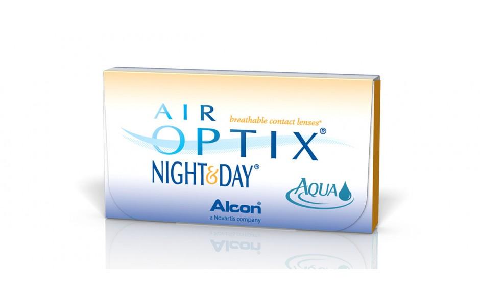 Air Optix Night & Day Aqua 3 Pack