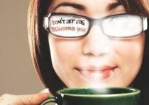 beslagen bril
